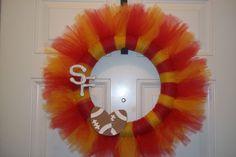 San Fransisco 49ers Super Bowl Wreath by ChuckandAndy on Etsy, $34.00