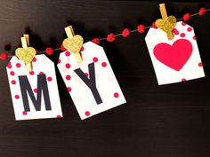 Lovely Garland For Valentine Day Decorating Ideas With Printable Valentine's Day Garland From Sarah Hearts