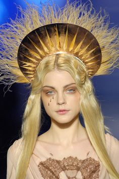 Hat Trick: A Brief History of the Haute Couture Headpiece - Jean Paul Gaultier Spring 2007 Couture