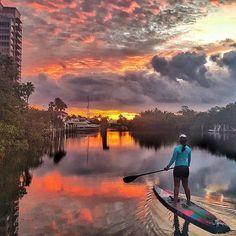 Enjoy this Miami sunrise  by @leesea78 #WednesdayWisdom