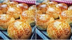 Nişastalı Pamuk Poğaça Tarifi Baked Potato, Tiramisu, Hamburger, Muffin, Food And Drink, Bread, Breakfast, Ethnic Recipes, 21 Mart