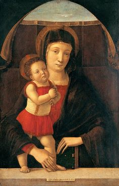 Madonnas attributed to Giovanni Bellini 1450 Giovanni Bellini (Italian Early Renaissance Painter Madonna with Child 1455 Giovanni.