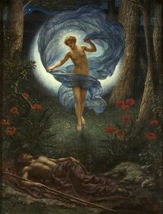 The Visions of Endymion: Edward Poynter, 1913
