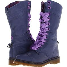 Doc Martens triumph 1914 purple!!
