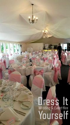 Ceiling Hunton Park Ideas for decorating the ceiling in the Marquee at Hunton Park Hunton Park, Park Hotel, Wedding Venue Decorations, Table Decorations, Ceiling Decor, Ceiling Lights, Blessing, Wedding Events, Decorating
