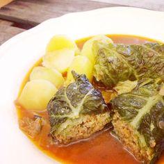 aentschies Blog: Sketchrecipes - Vegetarische Kohlrouladen