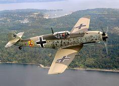 Flying Heritage Collection, Luftwaffe Day!   Mukilteo, WA ~ Jagdwaffe soars.