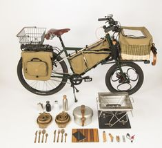 After seeing Nils' cargo bike roll out with a camp grill at a recent LA River Camp Coffee, suddenly the idea of utilizing a bike like that for over-the-top forrest picnics has piqued my interest. Her...