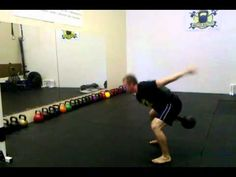 How to do a kettlebell swing: 2-arm swing and 1-arm swing - YouTube