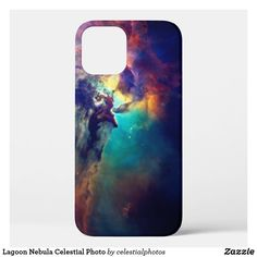 Lagoon Nebula Celestial Photo Case-Mate iPhone Case Space Images, Light Year, Online Gifts, Artwork Design, Plastic Case, Apple Iphone, Iphone Cases, Celestial, Prints