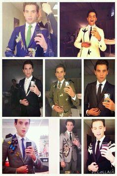 Suit selfies!!