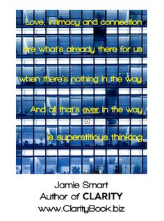 Clarity: Connection and Relationships (by Jamie Smart) ♯Clarity ♯InnateThinking Life Coaching, Little Books, Clarity, Insight, Connection, Relationships, Life Advice, Coaching, Personal Development