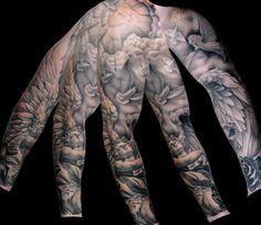 Angel Sleeve Tattoos