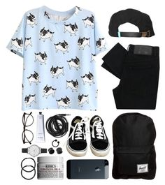 """""""I just miss you all the time"""" by theaserr ❤ liked on Polyvore featuring Vans, Cheap Monday, King Apparel, Herschel, Urbanears, David Jones, Hershesons, Olivia Burton, Illesteva and Rodin Olio Lusso"""