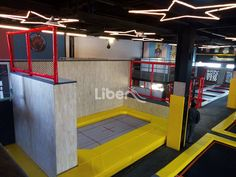 Liben Indoor Trampoline Park Project in Jiangyin, China-1