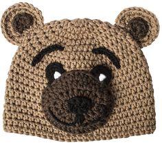 Kindermütze häkeln mit myboshi Anleitung Bärchen Crochet Kids Hats, Crochet For Boys, Diy Crochet, Crochet Headband Pattern, Crochet Beanie Hat, Baby Knitting Patterns, Crochet Mermaid Tail, Newborn Hats, Slouchy Beanie