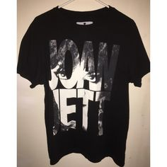 Joan Jett Shirt Adult size (loose)medium, but could probably fit a large too. 100% cotton. Black Heart Tops Tees - Short Sleeve