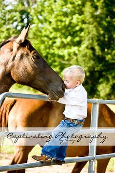 Cowboys love their horses