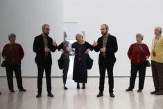 """""""La materia della forma. Collezione Panza di Biumo"""" (Mart, Rovereto, 2 April - 2 July 2017) - exhibition preview with Denis Isaia, curator - photo Mart, Jacopo Salvi. www.mart.tn.it/focuspanza"""