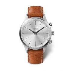 Kronaby Watch Sekel Smartwatch Watch available to buy online from with free UK delivery. Bluetooth, Diamond Stores, Fitness Watch, Crystal Bracelets, Modern Jewelry, Stainless Steel Case, Quartz Watch, Brown Leather, Metal
