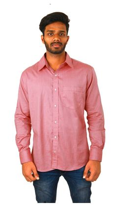 Buy COBRIO Cotton Blend Pink Shirt Online at Low Prices in India - Paytm.com