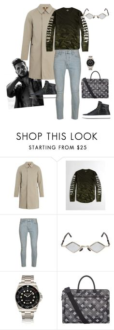"""""""Love me carefully"""" by sylviaasue ❤ liked on Polyvore featuring Burberry, Hollister Co., Topman, Kuboraum, Gucci, MCM, Philipp Plein, men's fashion and menswear"""