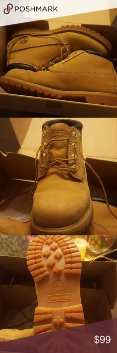 WOMEN'S TIMBERLAND WATERPROOF BOOTS Perfect blend of rugged and feminine. Waterproof leather uppers. Seam-sealed waterproof construction. Durability. Padded collars. Rustproof hardware. Rubber lug outsoles. Excellent condition. Shoes Ankle Boots & Booties