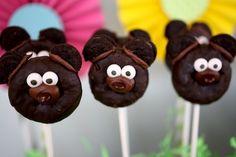Adorable DIY Bar-ba-loot Bear party treats!