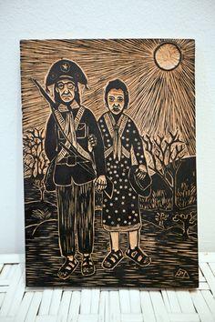 Xilo  http://galeriaviniciusxavier.blogspot.com.br/2012/04/matriz-de-xilogravura-de-lampiao-e.html