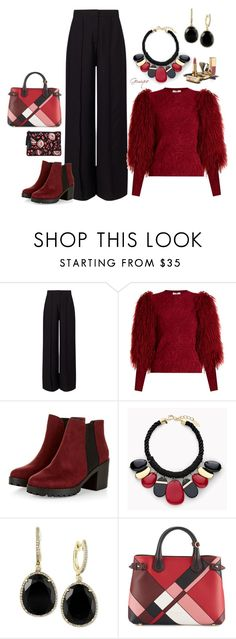 """""""Fun Living!"""" by gemique ❤ liked on Polyvore featuring Miss Selfridge, Sonia Rykiel, Chico's, Effy Jewelry, Dolce&Gabbana, Burberry and Loeffler Randall"""