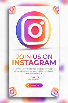 Instagram Story Template, Lorem Ipsum, Promotion, Social Media, Templates, Business, Stencils, Vorlage, Store