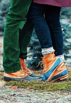 Couples who wear Bean Boots together are couples that stay together.