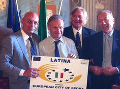 LATINA nominata CITTA' DELLO SPORT  http://www.parisnews.it/leggiCronaca.php?id=382