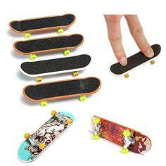 Kungfu Mall 5pcs Finger Toy Mini planche à roulettes Enfants jouant Jouet: S'il vous plaît noter!!! Le motif est un motif aléatoire, s'il…