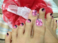 VALENTINE by TJNAILS - Nail Art Gallery nailartgallery.nailsmag.com by Nails Magazine www.nailsmag.com #nailart