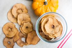Pumpkin Spice Apple Chips