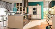 Cocina de Diseño The Singular Kitchen: Blanco Magnolia