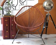 Acapulco Chair | Mid-Century Modern | Furniture Design | Home Decor