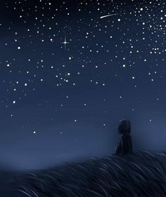"""""""A small boy looked at a star and began to weep. The star said, 'Boy, why are you weeping?' And the boy said, 'You are so far away I will never be able to touch you.' And the star answered, 'Boy, if I were not already in your heart, you would not be able to see me.' """" ~ John Magliola via Rivers in the Ocean  Art by Kamikaze-Kaito"""