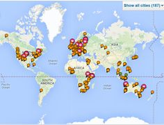 Where I've lived, and where I've been Atlantic Ocean, Personal Branding, South America, Asia, Image, Self Branding