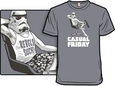 Tees Stormtrooper Casual Friday