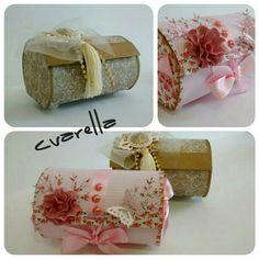 Pequenas embalagens para trufas ou mimos