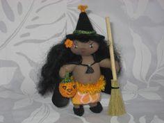 Magical Hawaiian Menehune Dolls: Hawaiian Halloween: Puli, the Menehune Witch