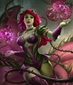 INJUSTICE 2. Poison Ivy.