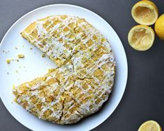 Lemon and Poppy Seed Polenta Cake - Food&_ | Food, Stories, Recipes, Photography & Illustration