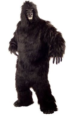 High Quality Marcot Costume GORILLA Unisex Costumes ADULT Halloween Costumes One Size