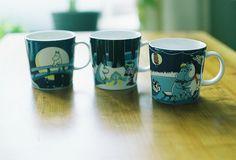 Moomin mugs, via Flickr.
