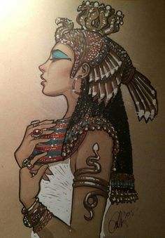 Cleopatra by on DeviantArt Cleopatra by on DeviantArt Cleopatra by on DeviantArt<br> Egyptian Mythology, Ancient Egyptian Art, Egyptian Goddess Tattoo, Egyptian Anubis, Ancient Goddesses, Isis Goddess, Egyptian Symbols, Ancient Aliens, Ancient Greece
