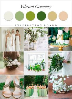 Wedding Theme 2018 African - 2017 and 2018 wedding trends you shouldn& miss! 2018 Wedding Colors, 2017 Wedding Trends, Wedding Color Schemes, Wedding Themes, Wedding Designs, Wedding Decorations, Green Wedding, Spring Wedding, Our Wedding