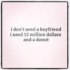 Actually, just the donut will do. #girlpower #donutpower